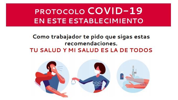 Descarga carteles y vídeos del COVID-19 para tu comercio - Carnimad